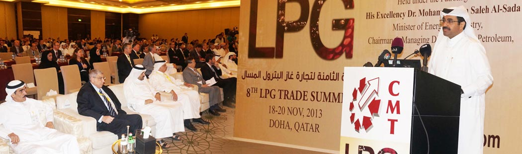 H E Dr.Mohammed bin Saleh Al-Sada Minister of Energy at 8th LPG Trade Summit Conference